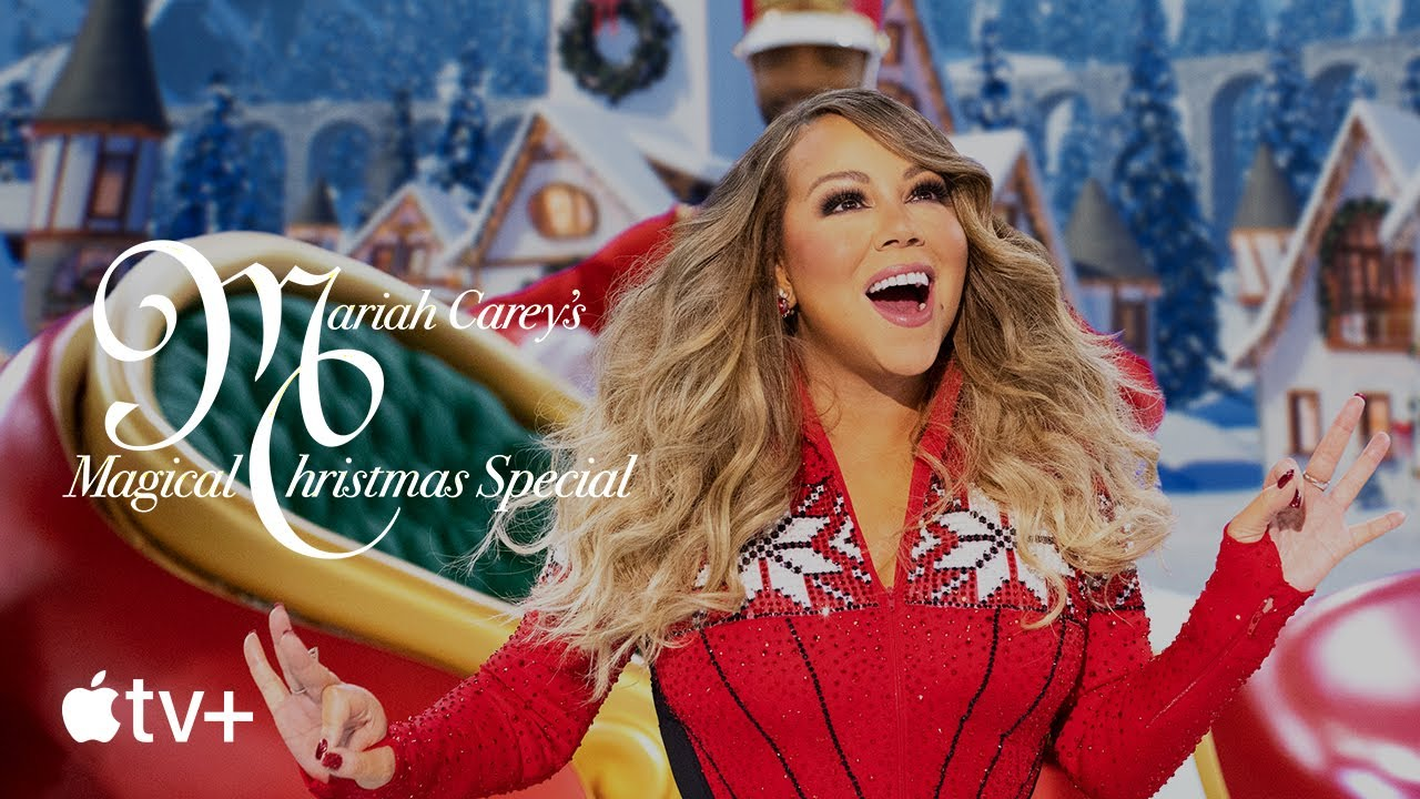 Trailer do especial de Natal com Mariah Carey