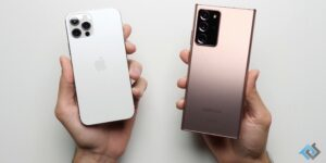 Teste de velocidade: iPhone 12 Pro contra Samsung Galaxy Note20 Ultra
