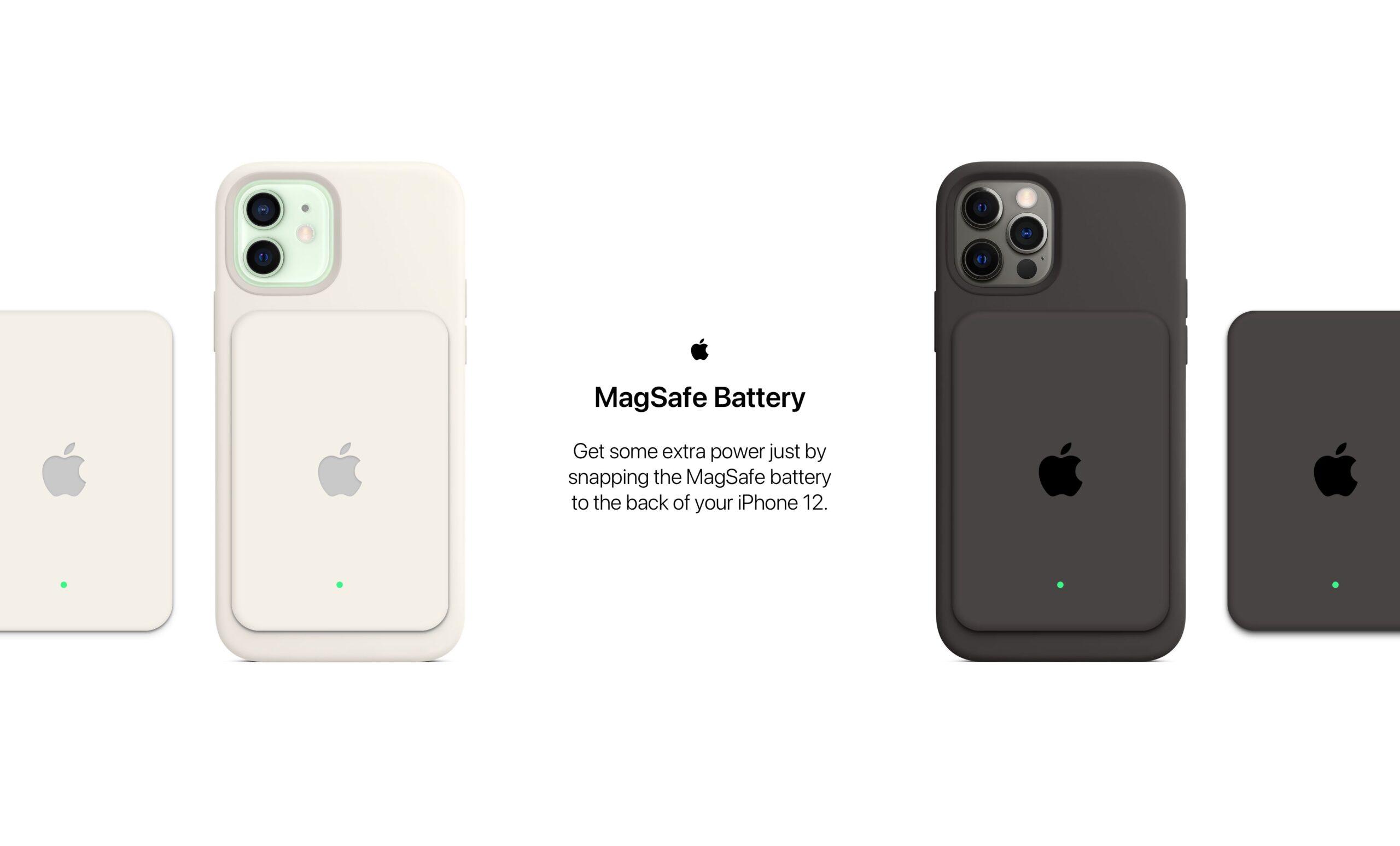 Conceito de MagSafe Battery por Parker Ortolani