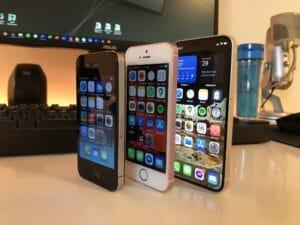 iPhone 4, SE e 12 mini