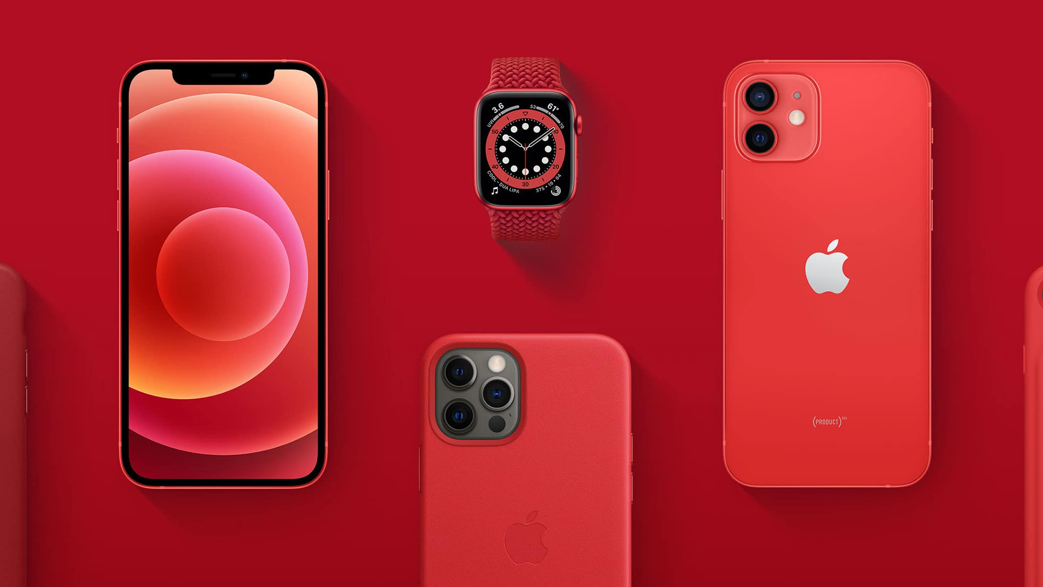 iPhone e Apple Watch PRODUCT)RED
