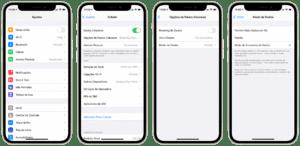 Modo de Economia de Dados no iOS