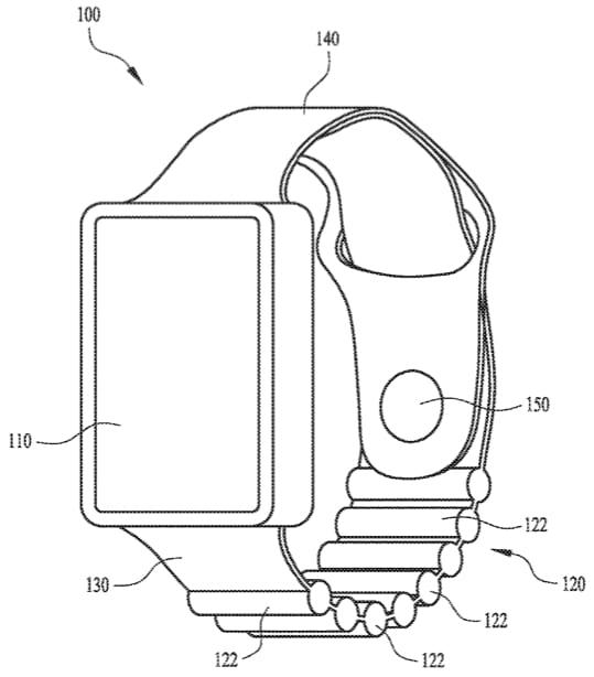 Patente da Apple sobre pulseira com bateria