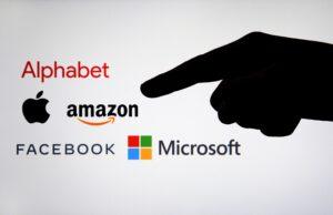 """Logotipos de companhias """"Big Tech"""""""
