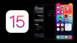 Conceito de iOS 15