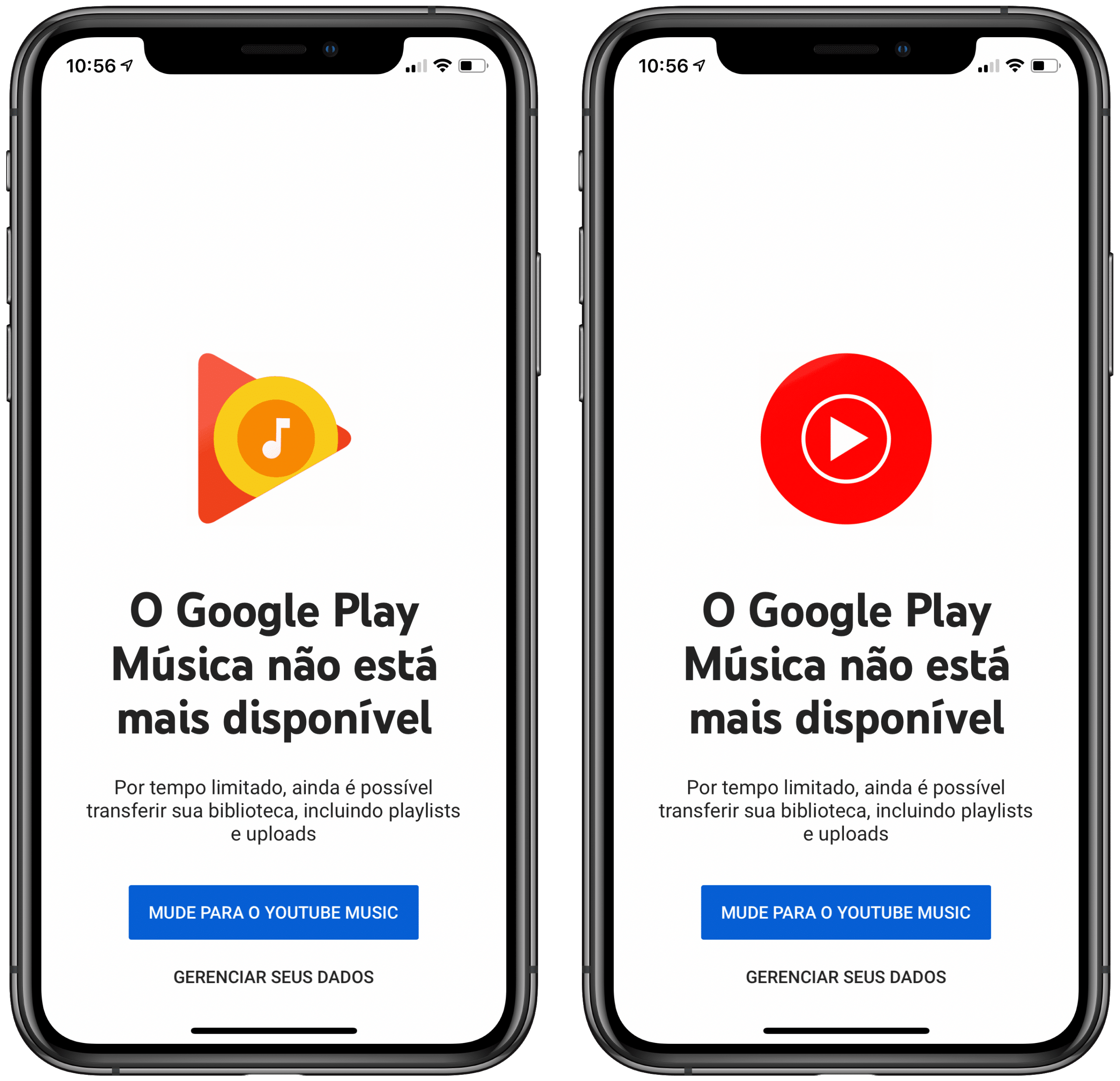 Google Play Música para iOS
