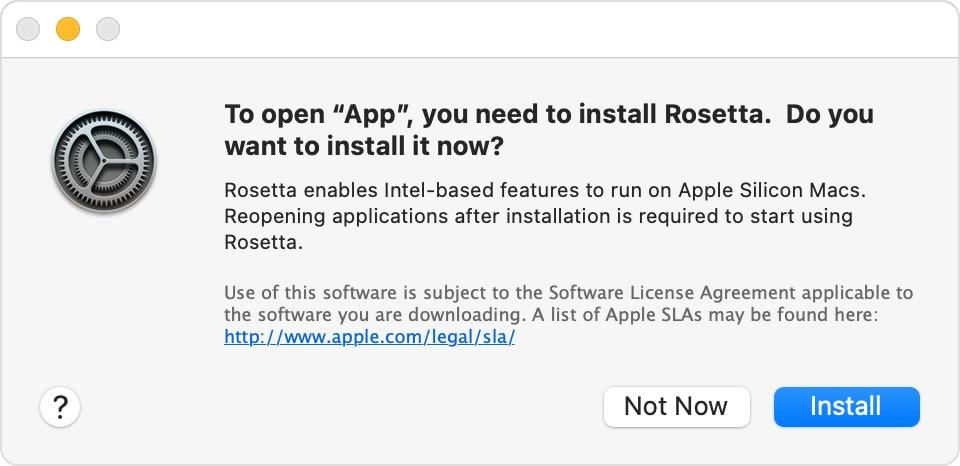 Cómo instalar Rosetta 2 en Mac con Apple Silicon – MacMagazine.com
