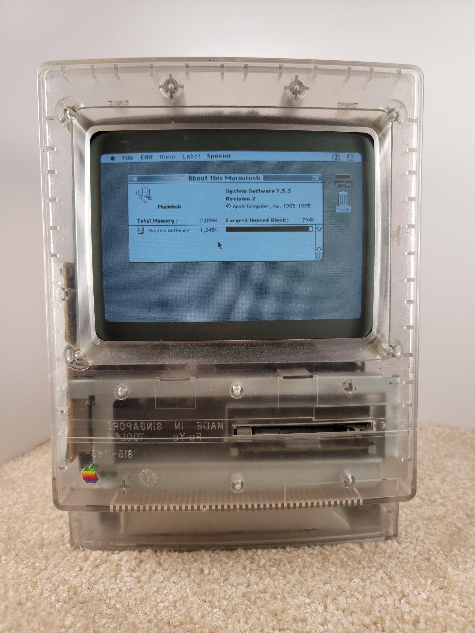 Protótipo de Macintosh Classic