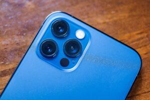 Câmeras e scanner LiDAR do iPhone 12 Pro