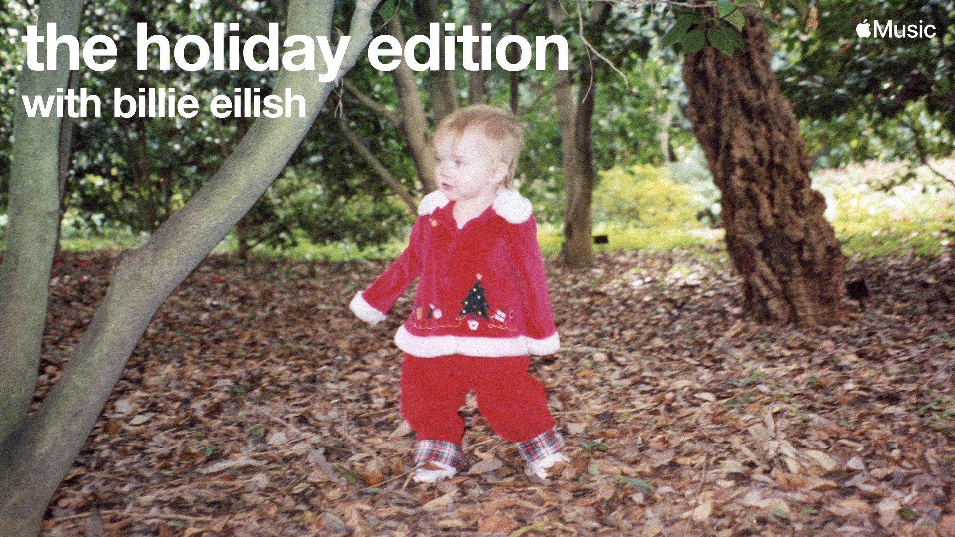 "Programa de Billie Eilish, ""the holiday edition"", no Apple Music"