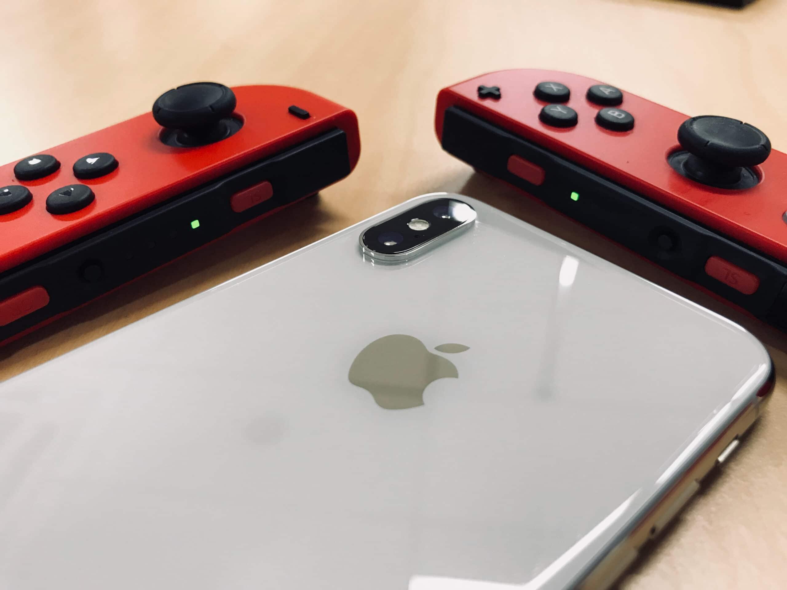iPhone e Nintendo Switch