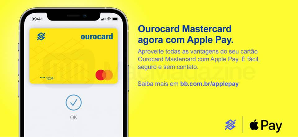 Ourocard Mastercard do BB no Apple Pay