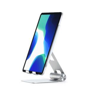 Suporte de alumínio dobrável da Satechi para iPads