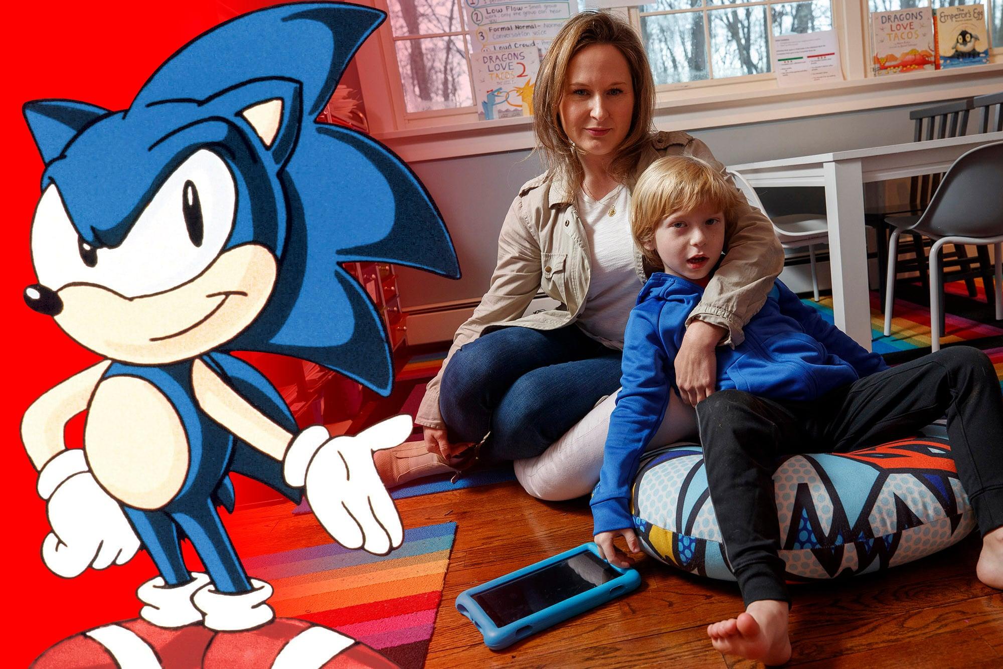 Jessica e George Johnson, que gastou US$16 mil em jogo no iPad