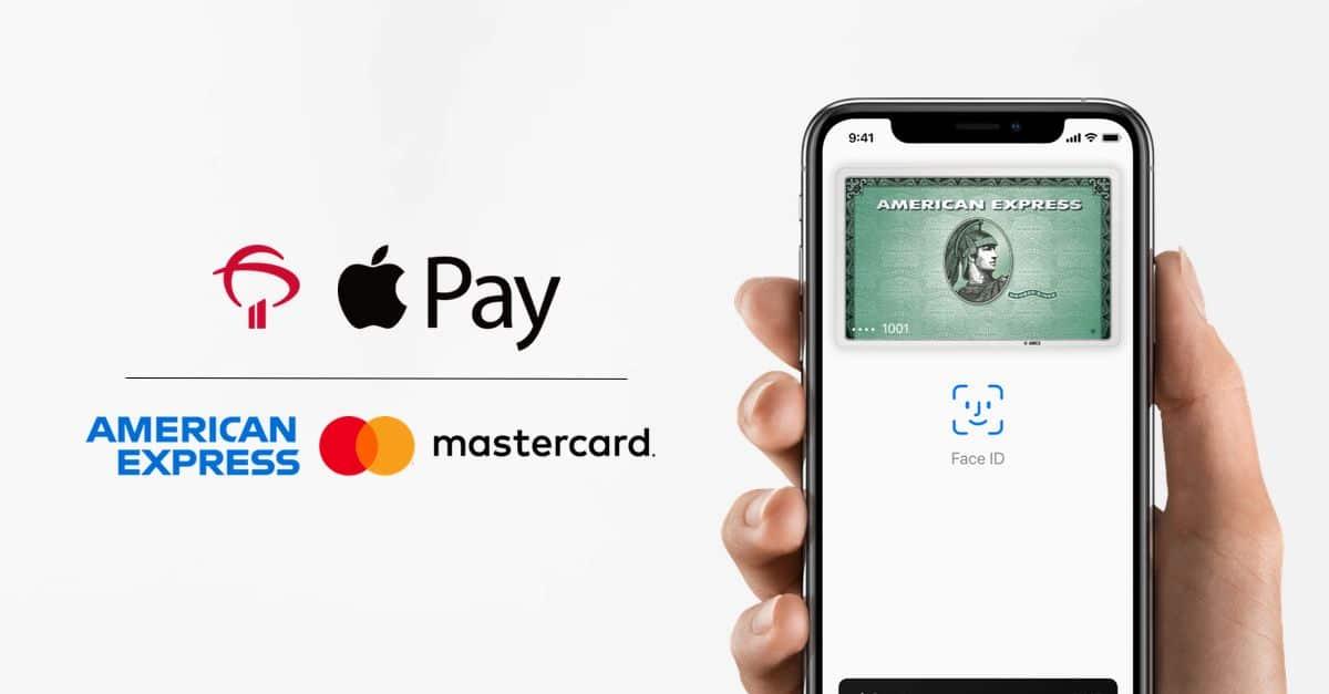 Cartões American Express e Mastercard (do Bradesco) no Apple Pay