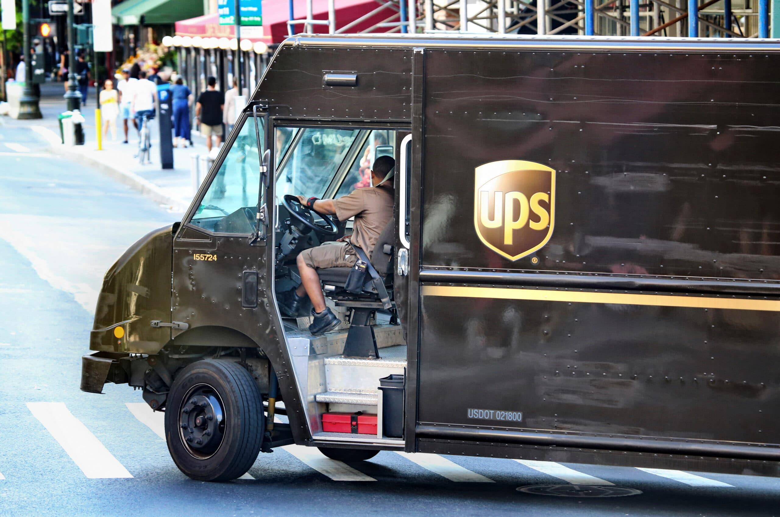 Caminhão da UPS