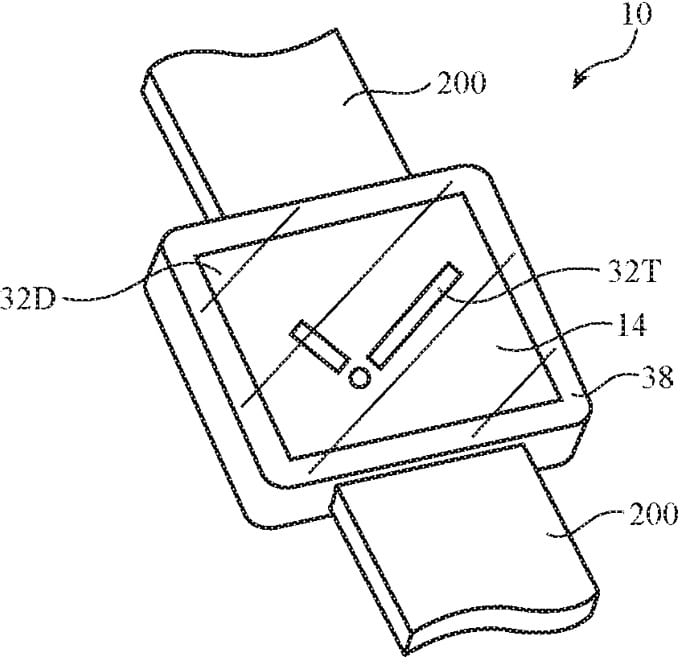 Patente: câmera sob display do Apple Watch