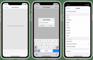 Criando um novo padrão vibratório no iOS 14