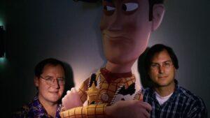 John Lasseter e Steve Jobs