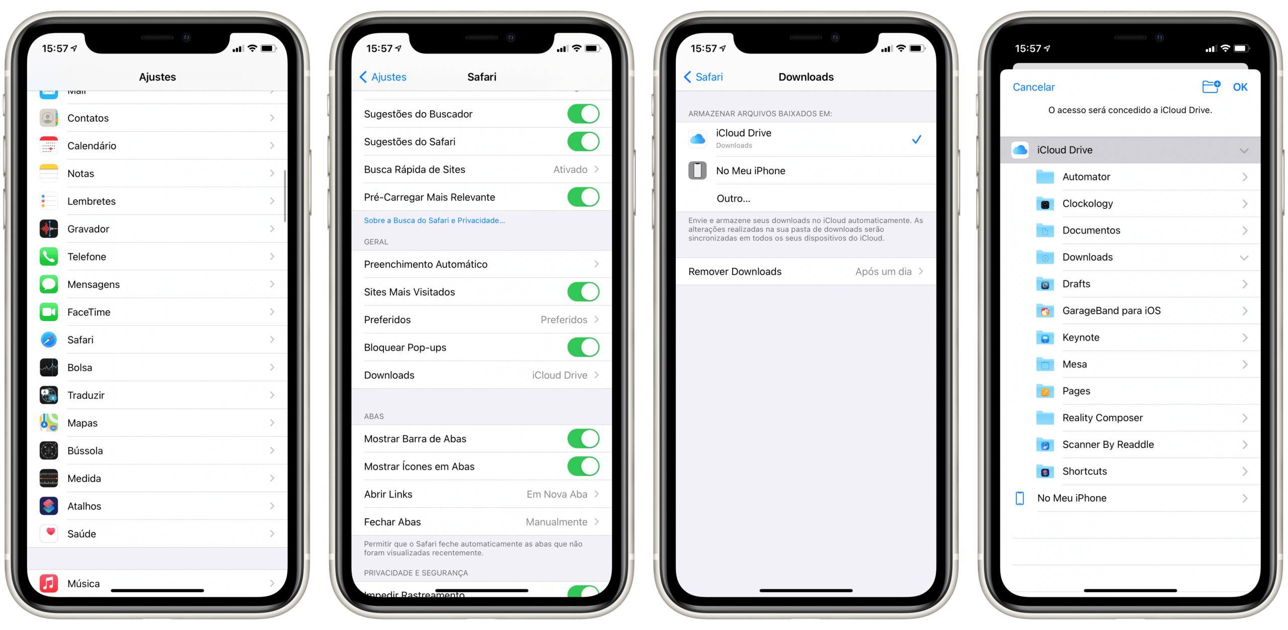 Como alterar o local de downloads do Safari no iOS e macOS ...