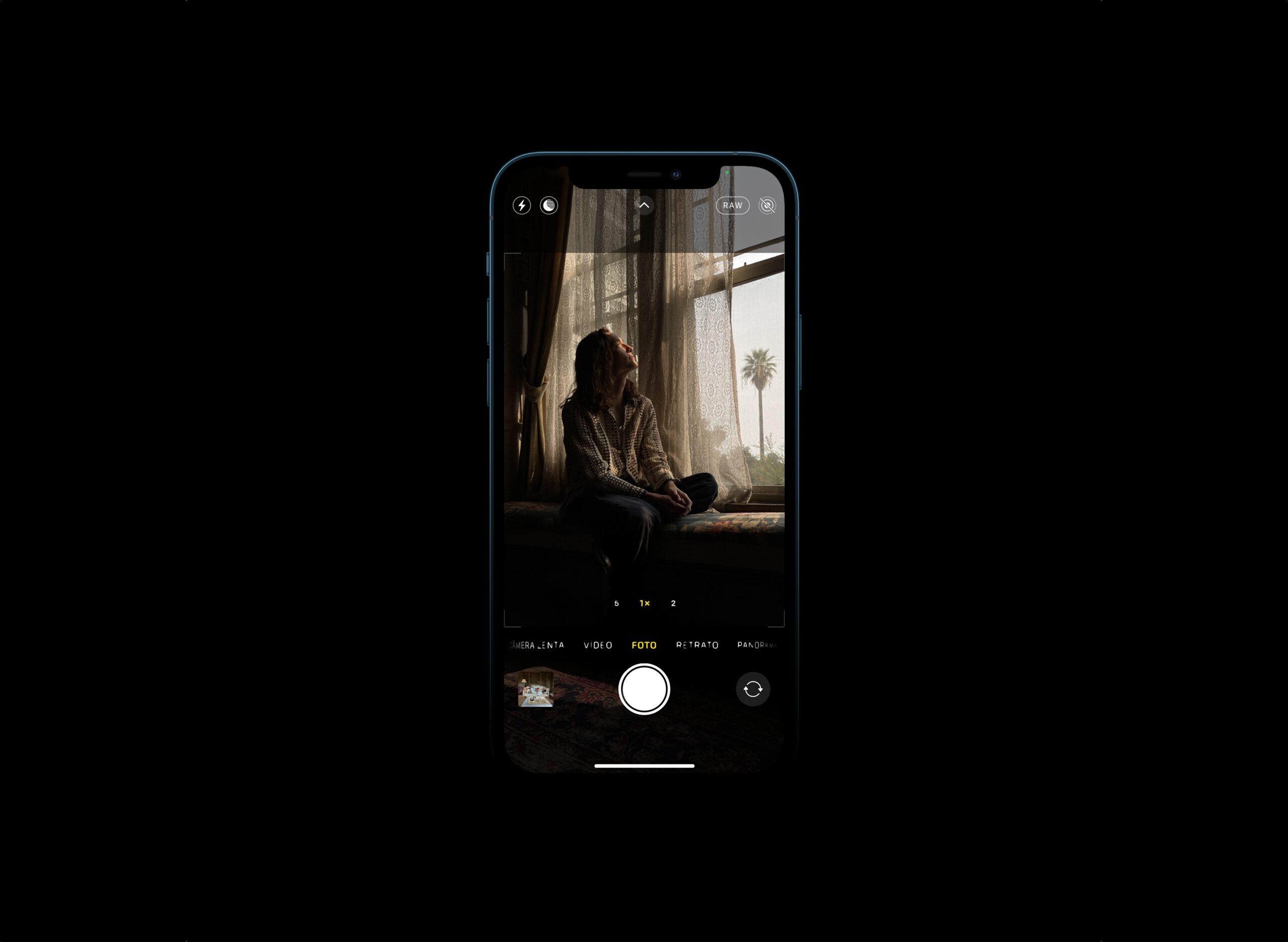 Formato ProRAW dos IPhones 12