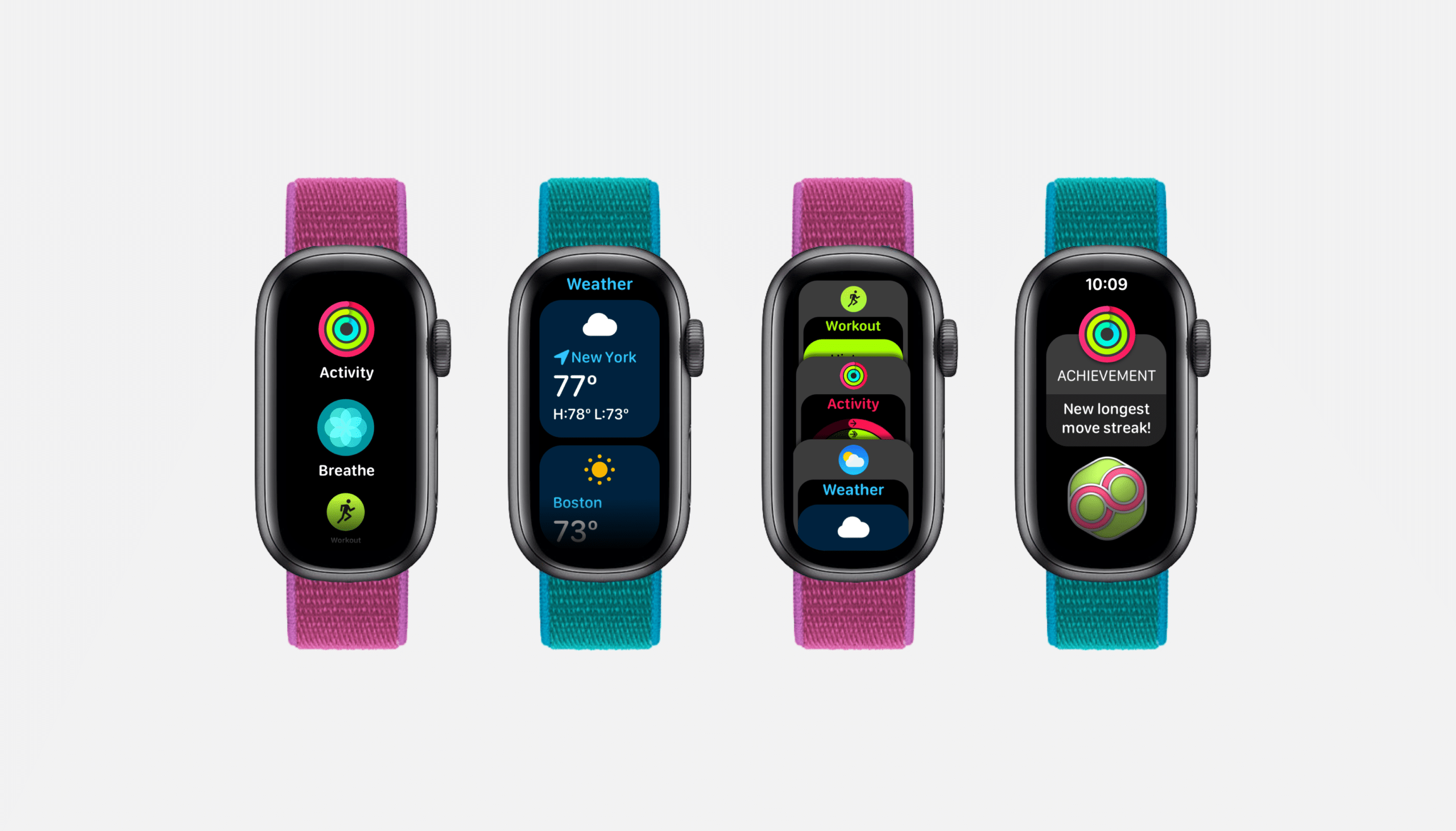 Conceito de Apple Watch Fit por Parker Ortolani