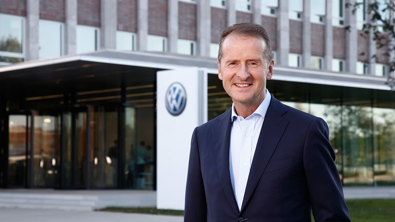 Herbert Diess, CEO da Volkswagen