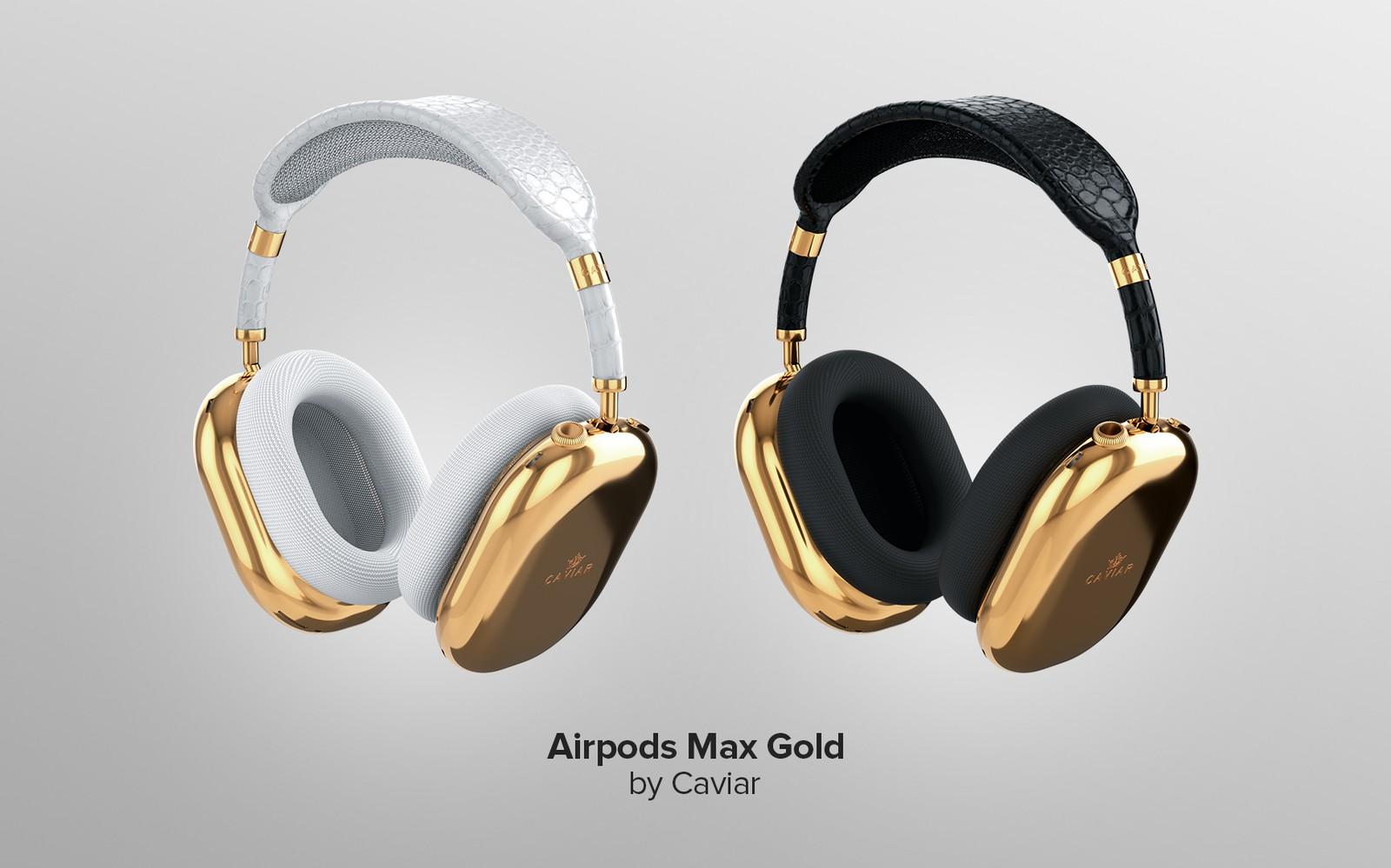 AirPods Max da Caviar