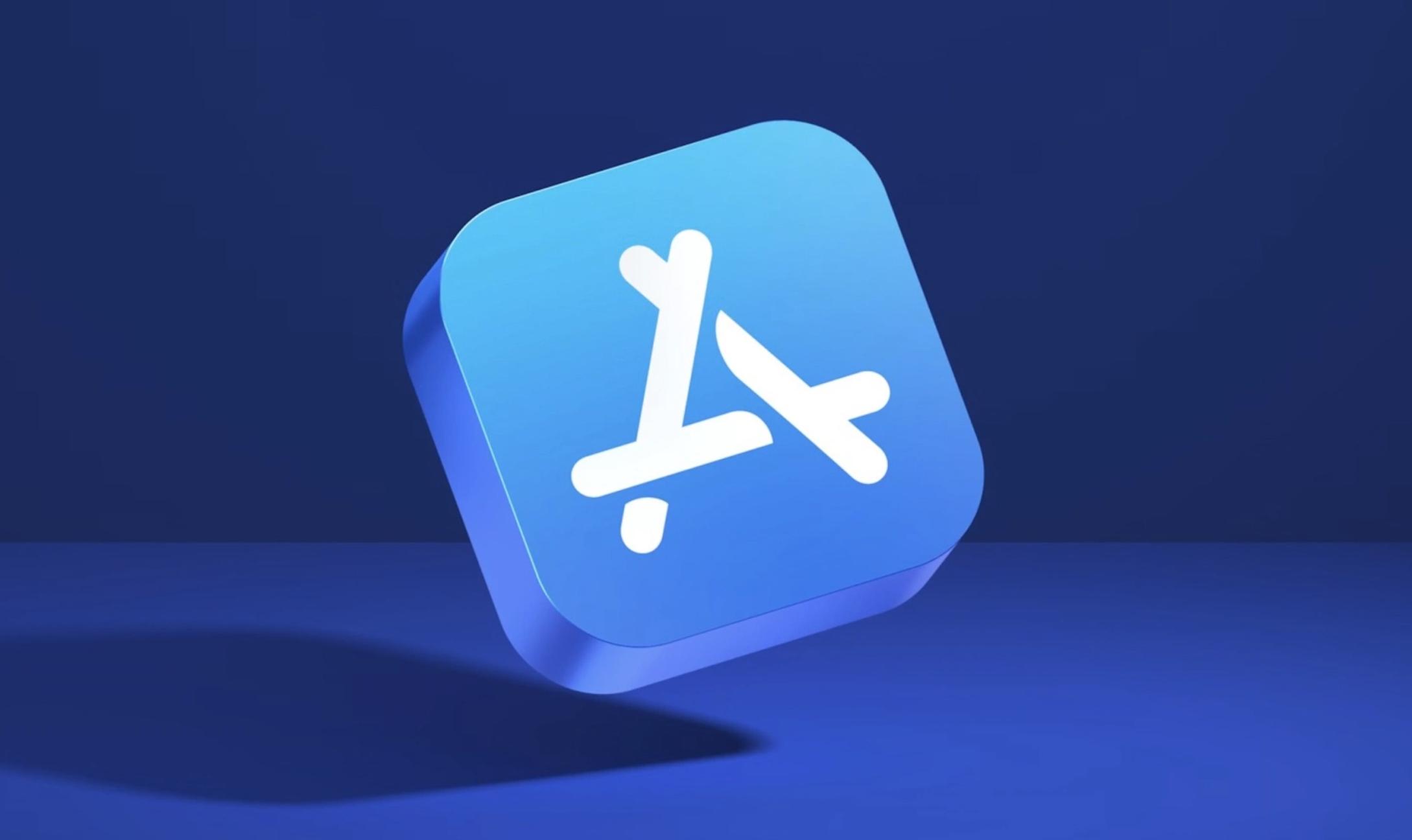 Ícone 3D da App Store