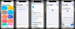 Adicionando um atalho para um site no Chrome na tela inicial do iOS