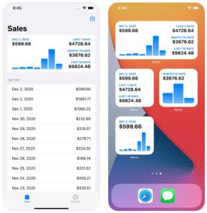 Aplicativo Barter para iOS/iPadOS