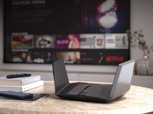 Roteador Wi-Fi 6E RAXE500 da Netgear