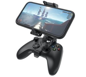 Clipe da OtterBox para prender iPhone a controle do Xbox