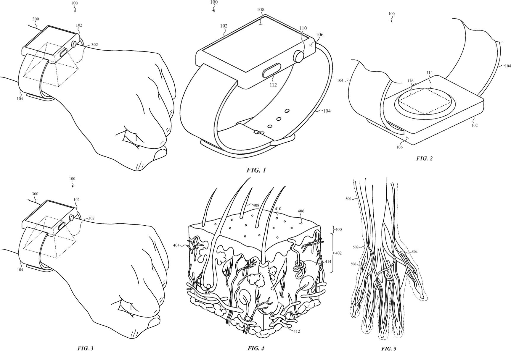 "Patente ""Wrist ID"", da Apple"