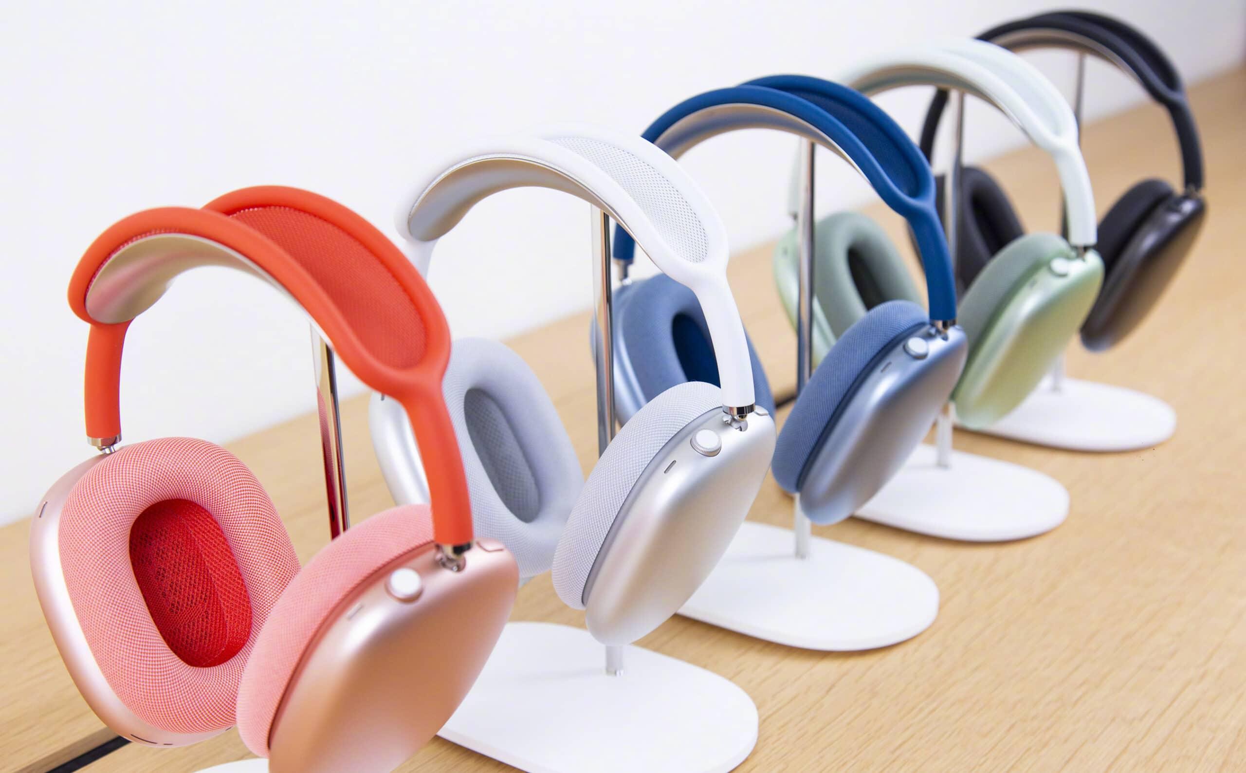Todas as cores dos AirPods Max à venda em Apple Store