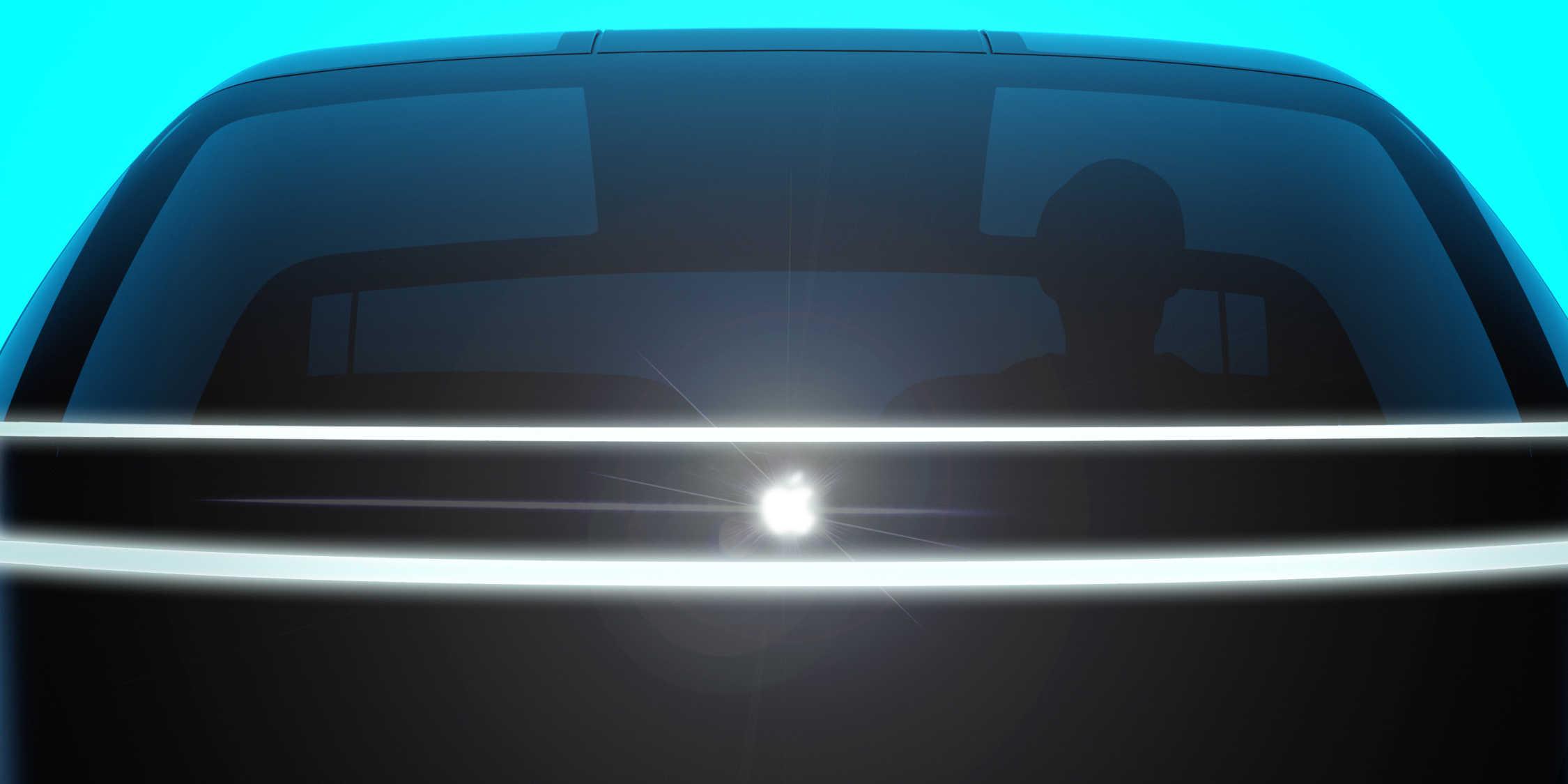 """Ilustração do """"Apple Car"""""""