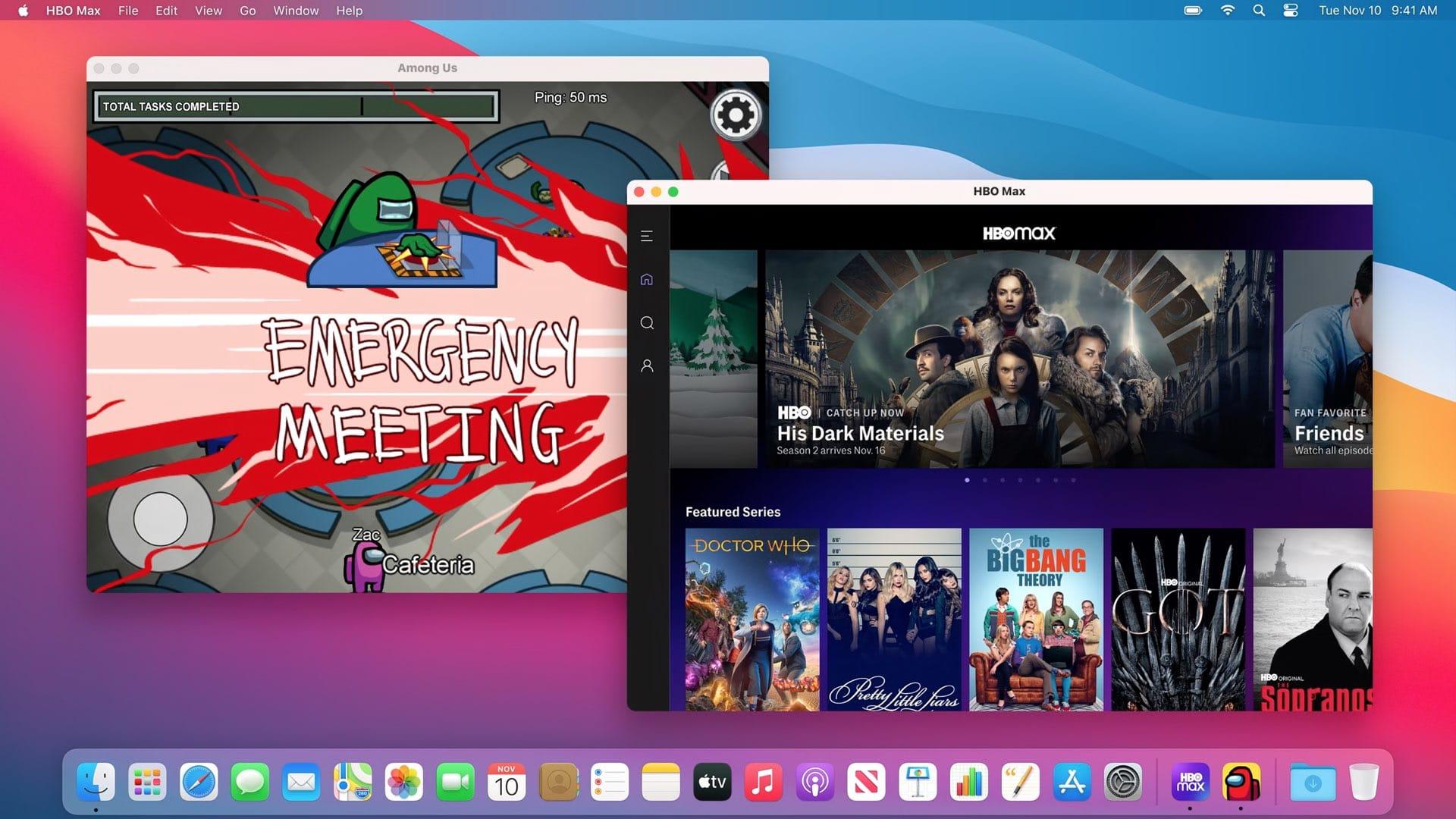 Apps para iOS rodando no macOS