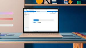 OneDrive em um notebook