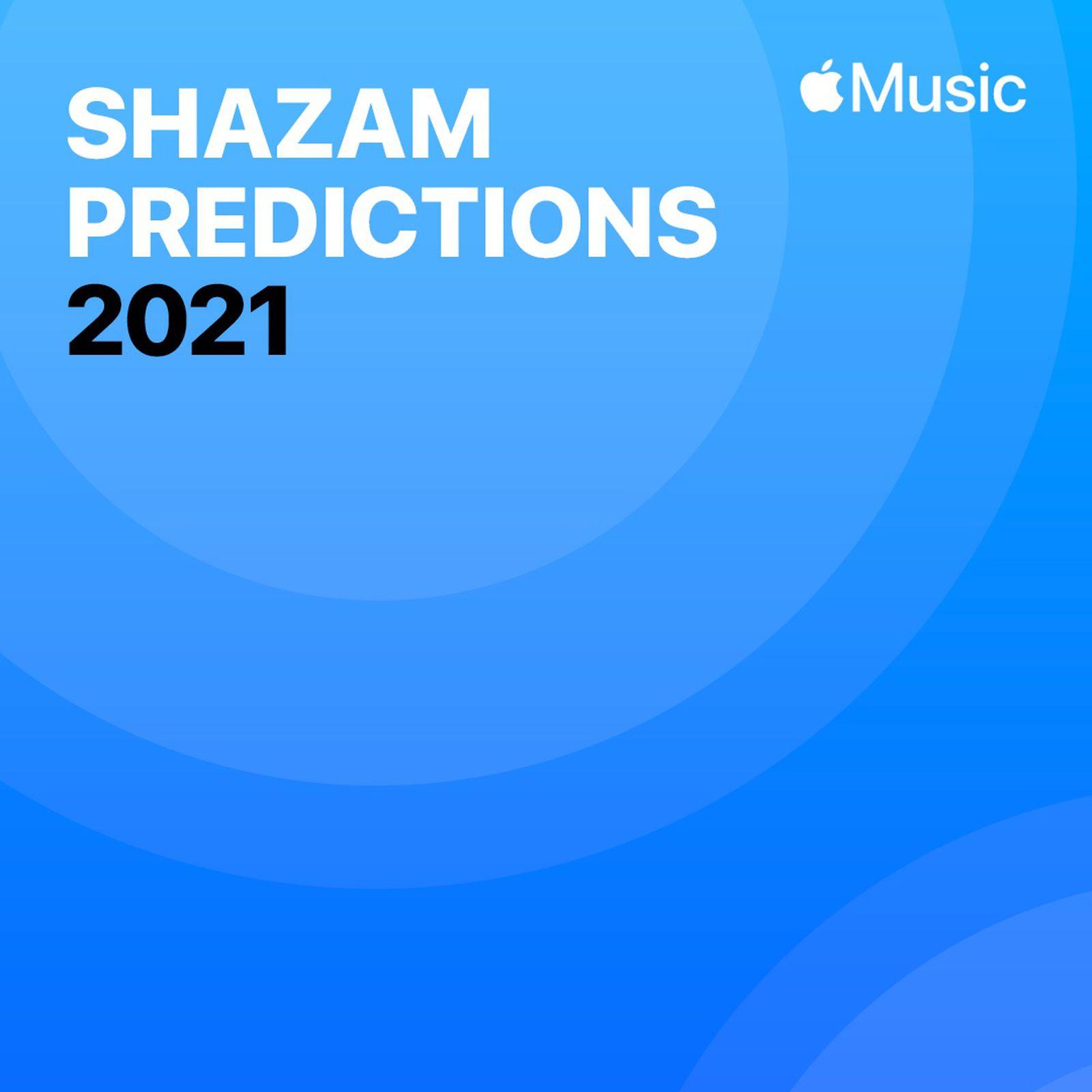 Playlist do Shazam no Apple Music