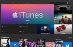 iTunes na Microsoft Store