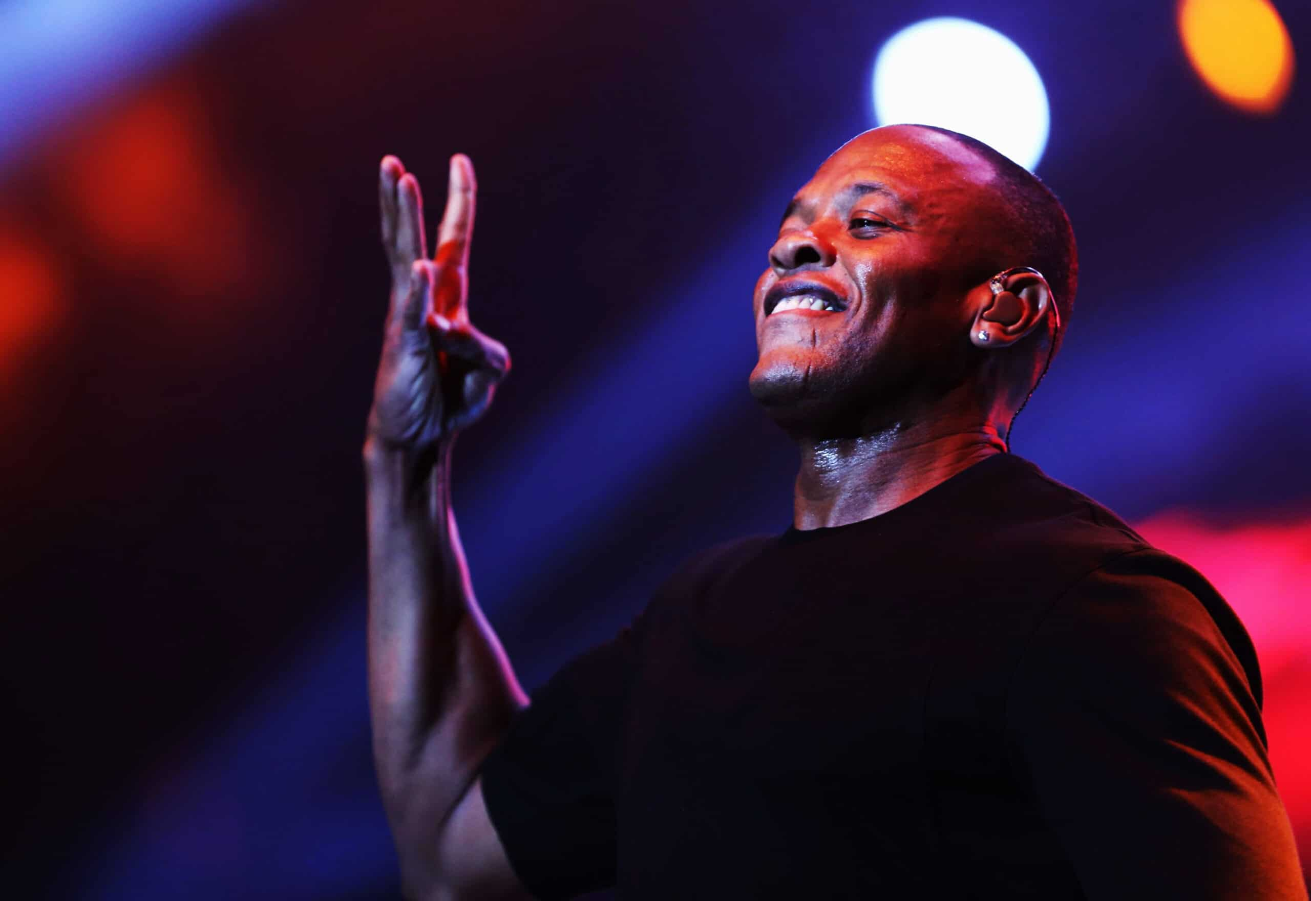 Rapper Dr. Dre em show