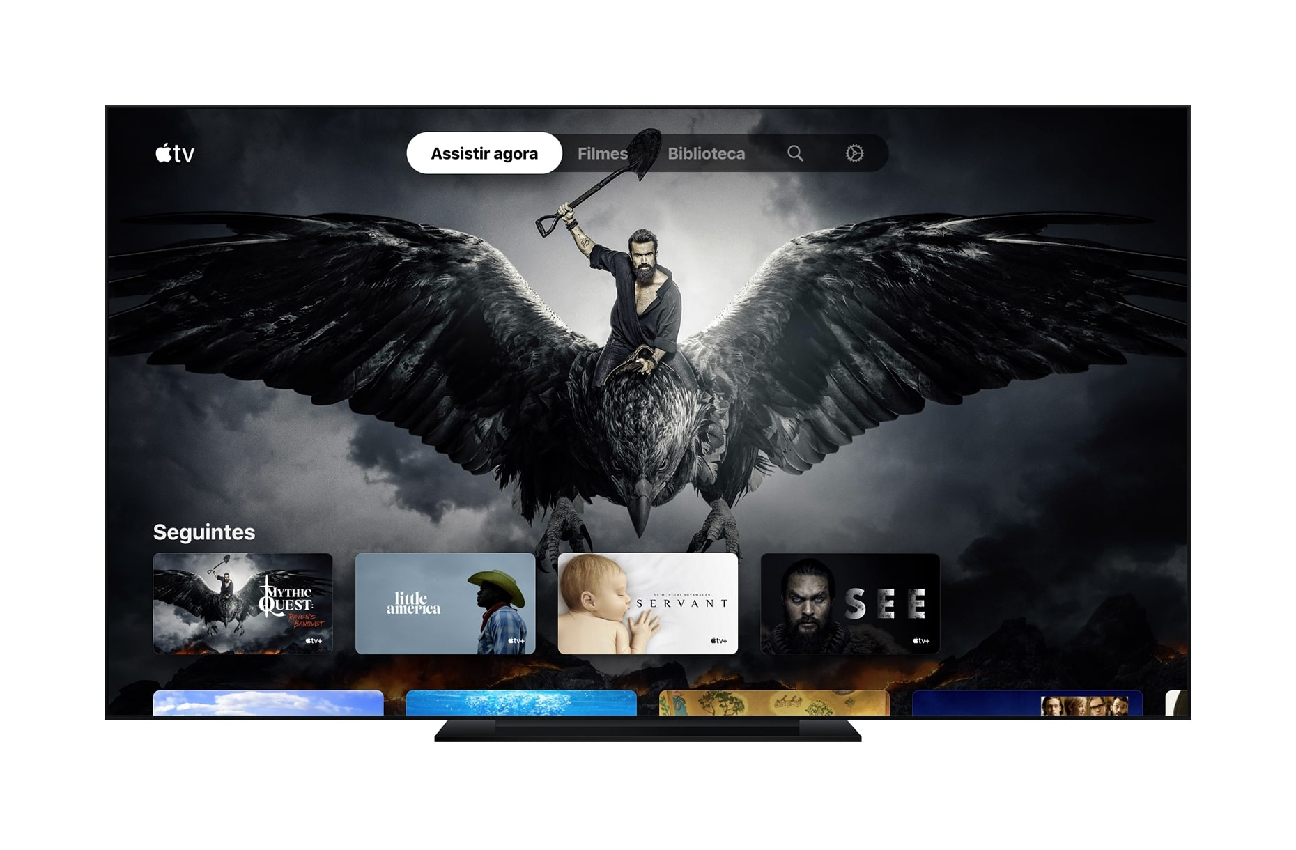 Smart TV com o app Apple TV