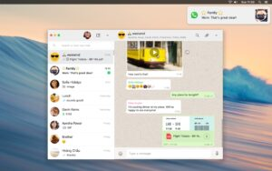 WhatsApp Desktop para macOS