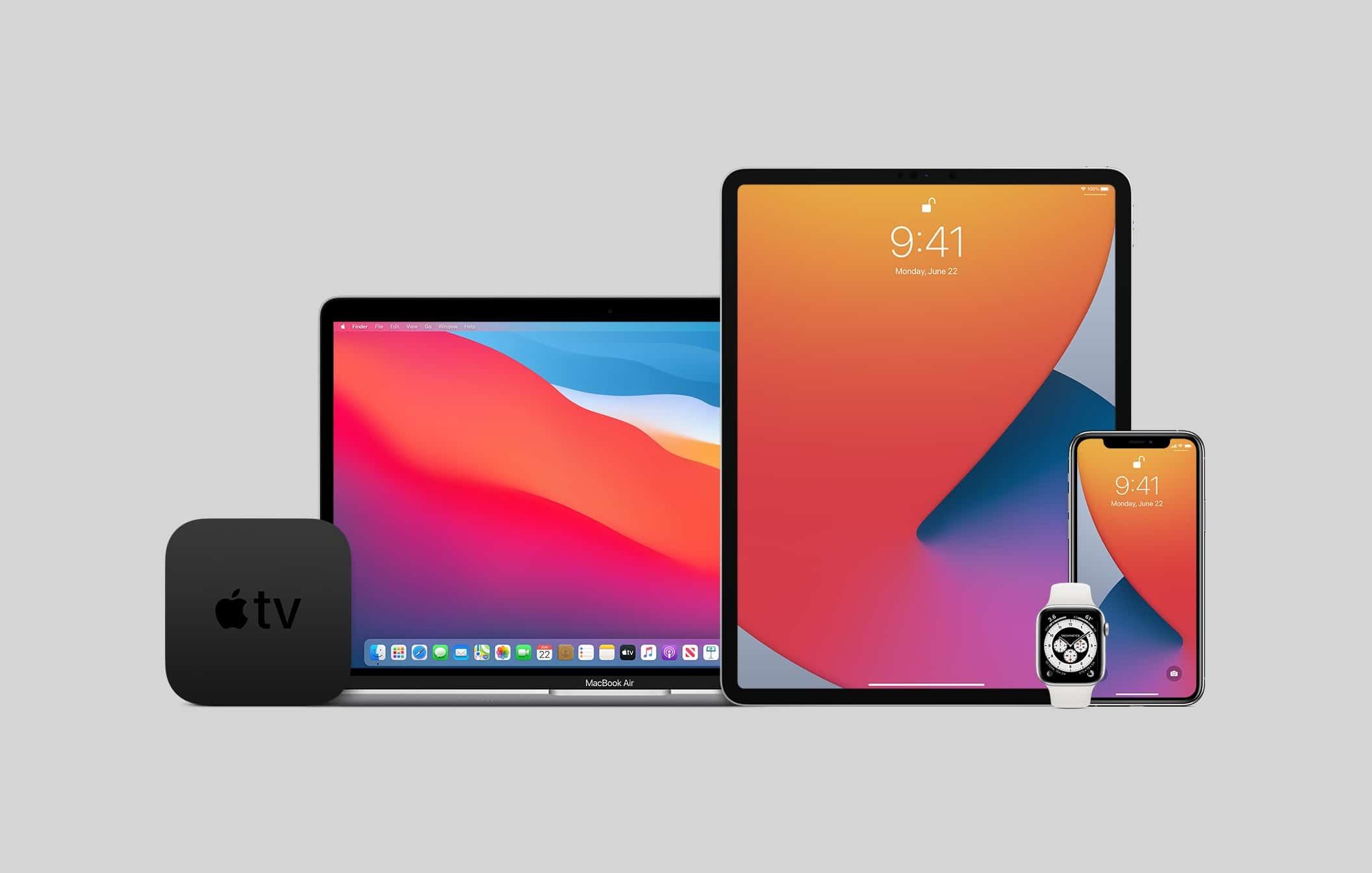 Produtos da Apple (sistemas beta)