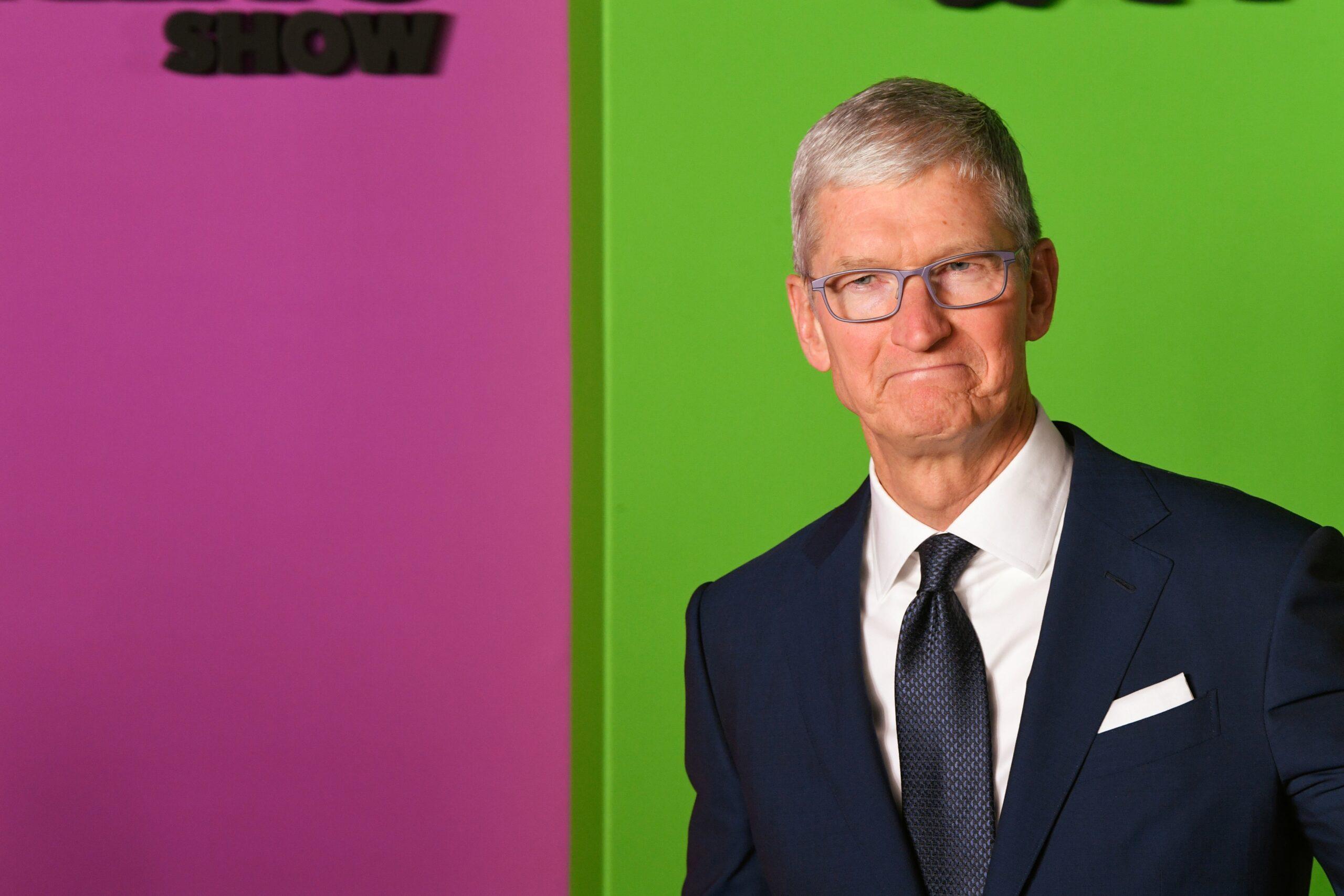 """Tim Cook na estreia de """"The Morning Show"""" do Apple TV+"""