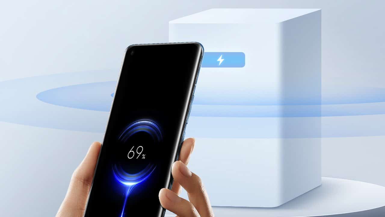 Tecnologia de carregamento à distância da Xiaomi