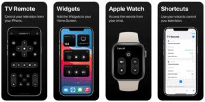 TV Remote, app para iPhone, iPad e Apple Watch