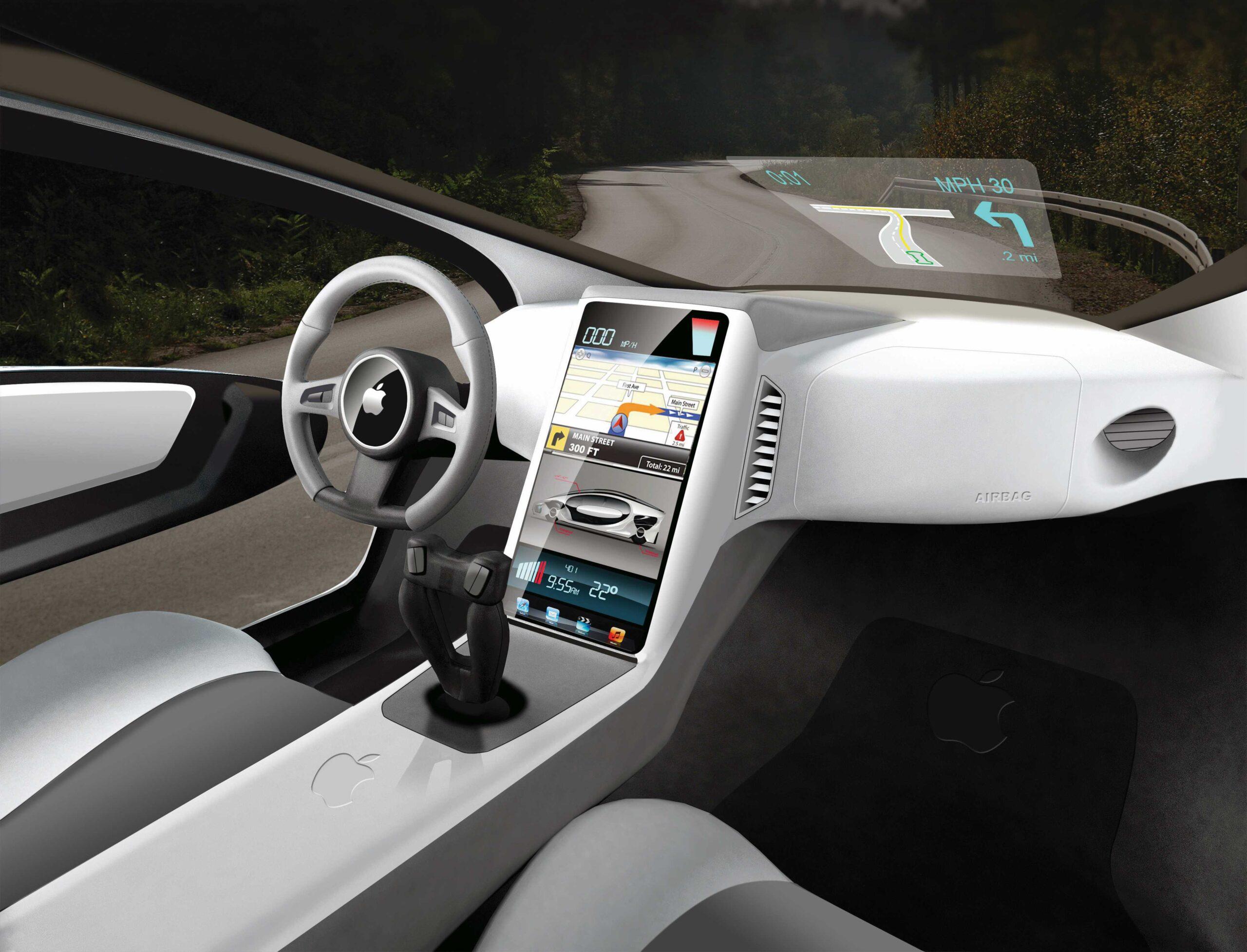 """Conceito do """"Apple Car"""""""