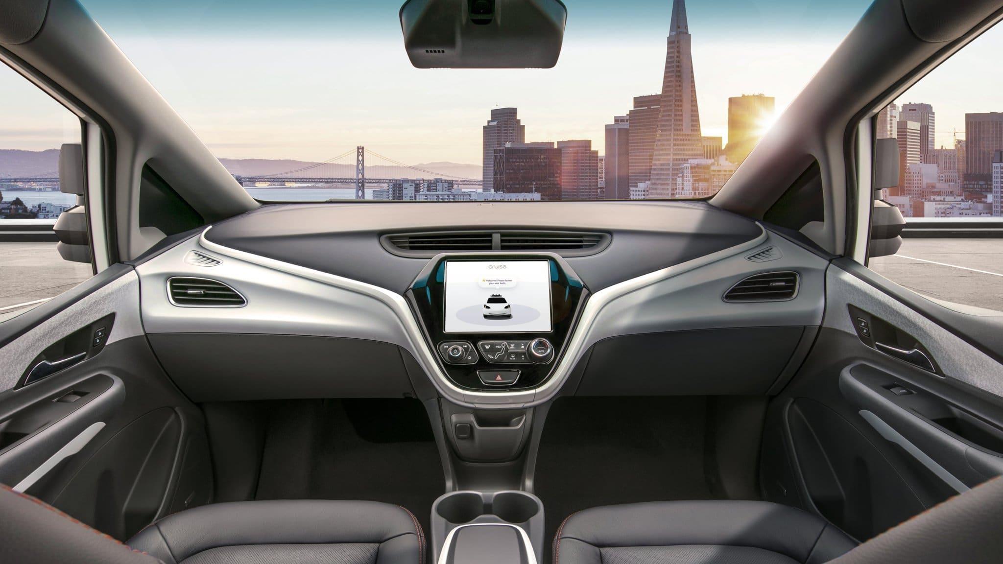 Carro sem motorista da GM