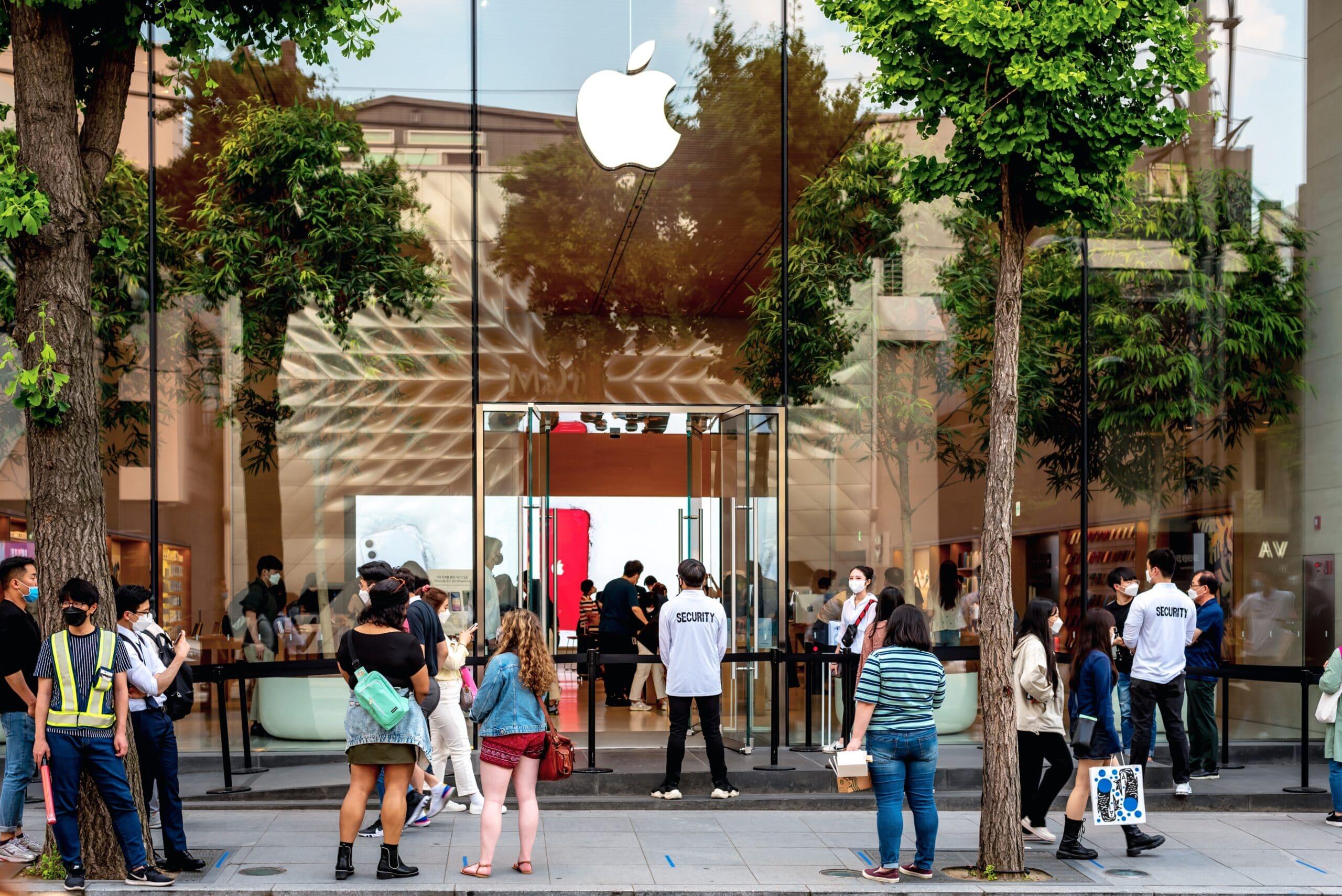 Apple Store na Coreia do Sul